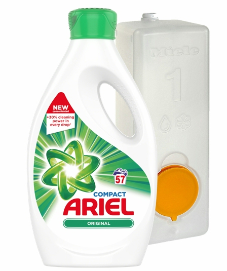 Ariel + miele dosing