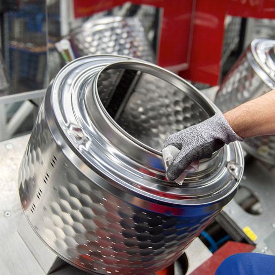 wasmachine, wasdroger, vaatwasser - duurzaamheid en kwaliteit - herbruikbare materialen