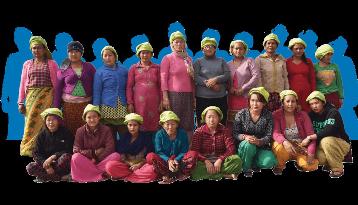 Seepje wasnoten Nepal