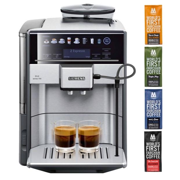 koffiezetapparaat Siemens Moyee koffie