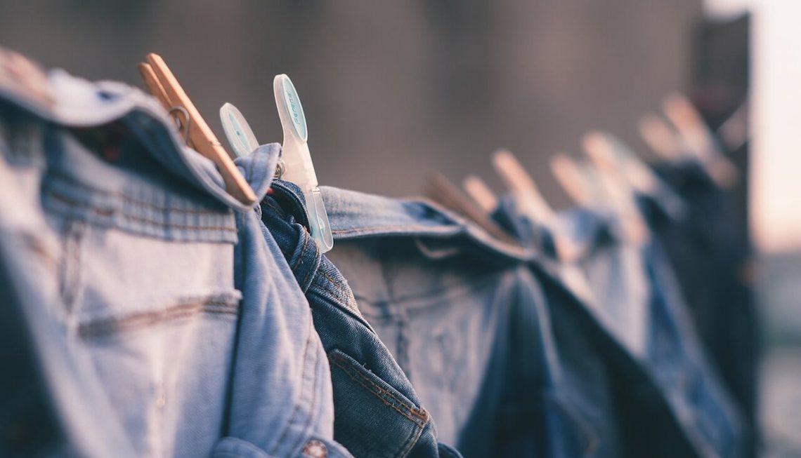 wasmachine, wasdroger, vaatwasser - zuinig wassen en drogen waslijn